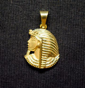 rostro oro Ramses perfil