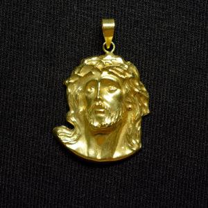 rostro oro Jesús