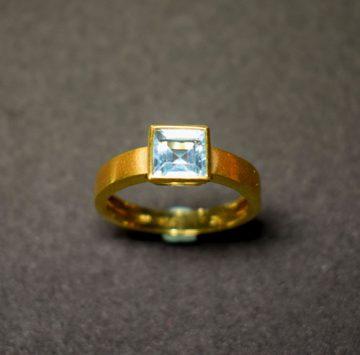 sortija oro aguamarina 919751