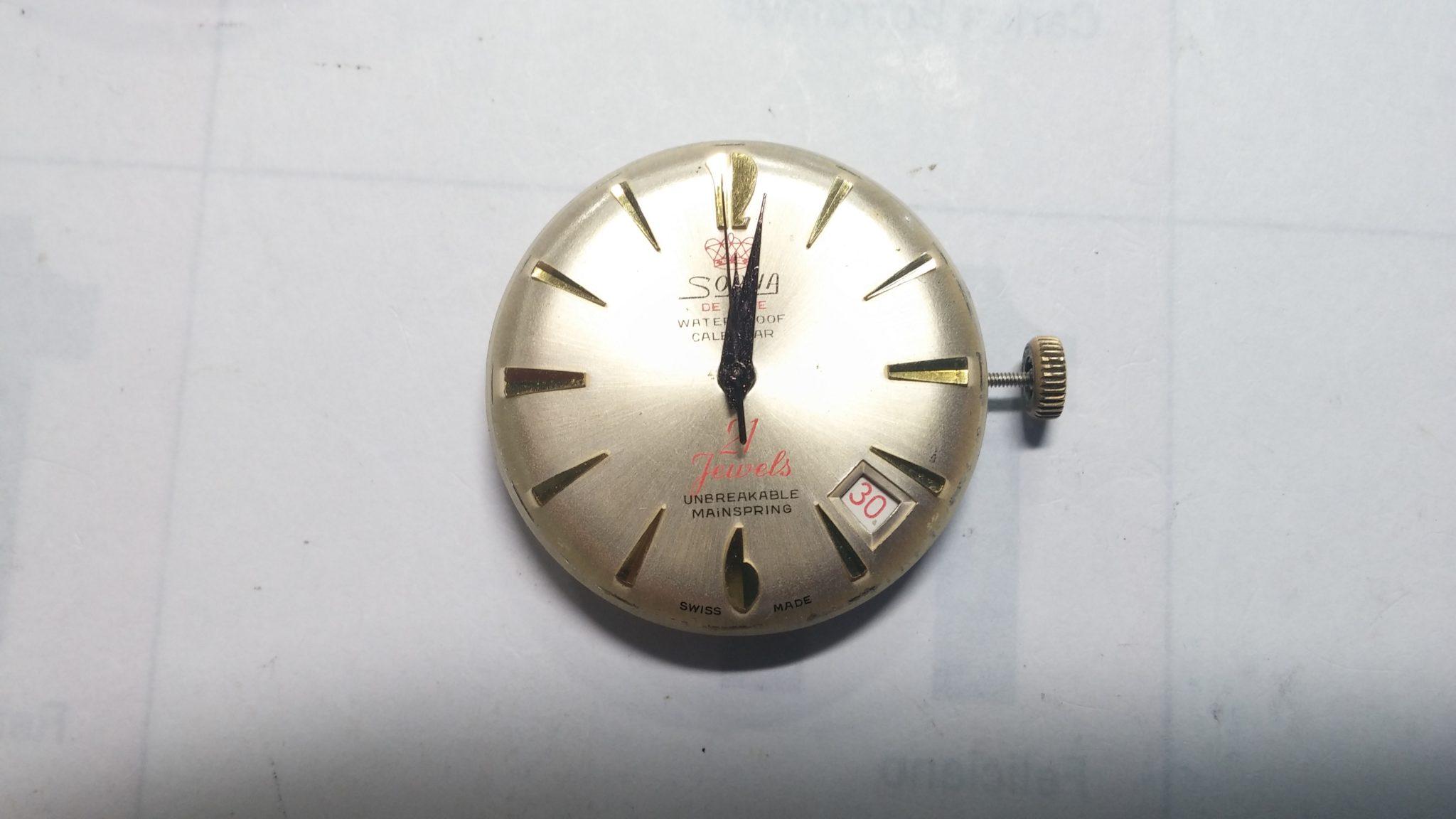 Reloj mecánico SORNA 21 rubí 6