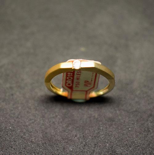 sortija oro bicolor 919S