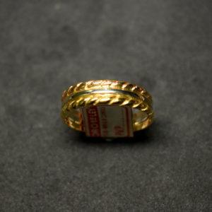 sortija de oro 4657
