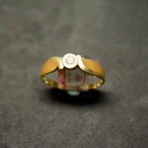 sortija oro diamante 751