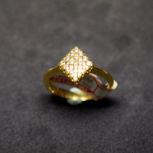 sortija oro 16 diamantes 113911 rombo