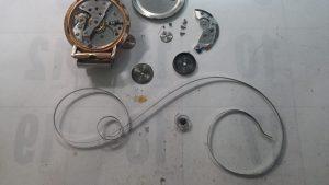 Localizo la avería del reloj cuerda mecánico 17 ruvís 4